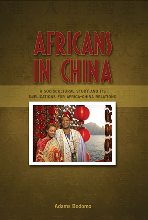 Front Cover Africans in China: A Sociocultural Study and Its Implications for Africa-China Relations