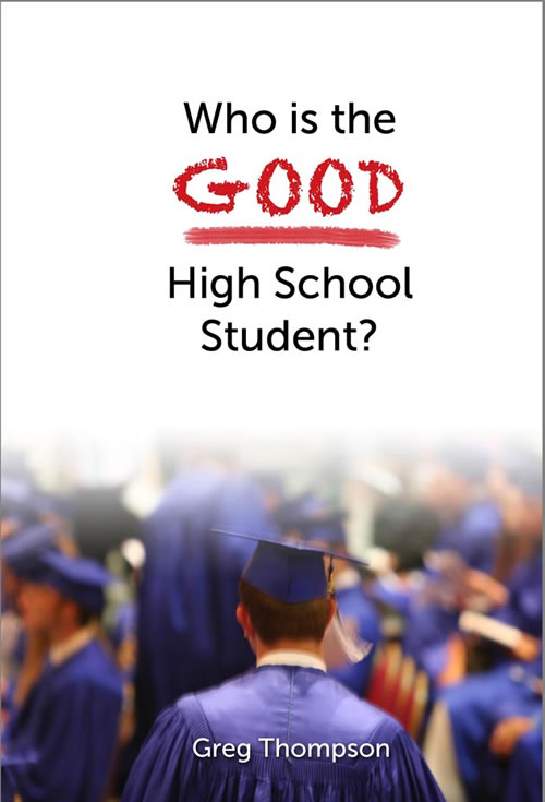 Front Cover Who is the Good High School Student?